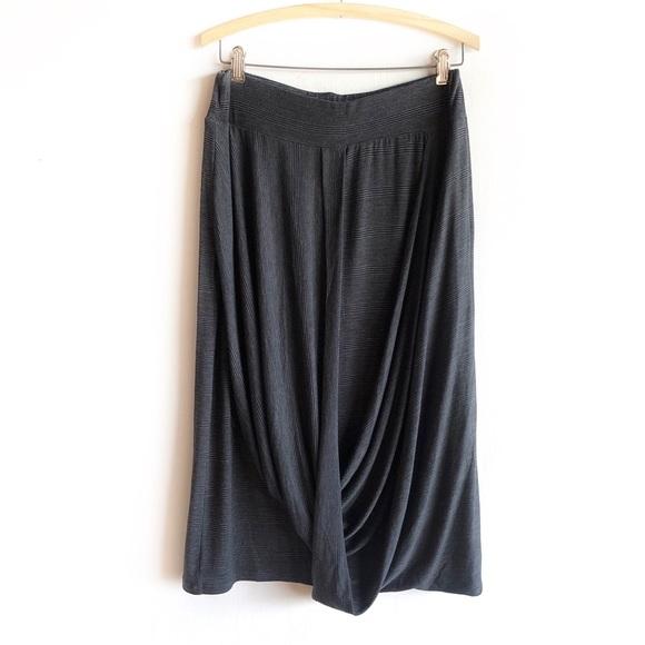 Ronen Chen Dresses & Skirts - Ronan Chen draped jersey midi skirt
